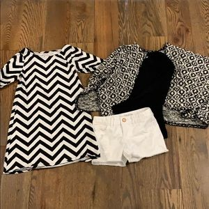 Black & White Trendy Combo